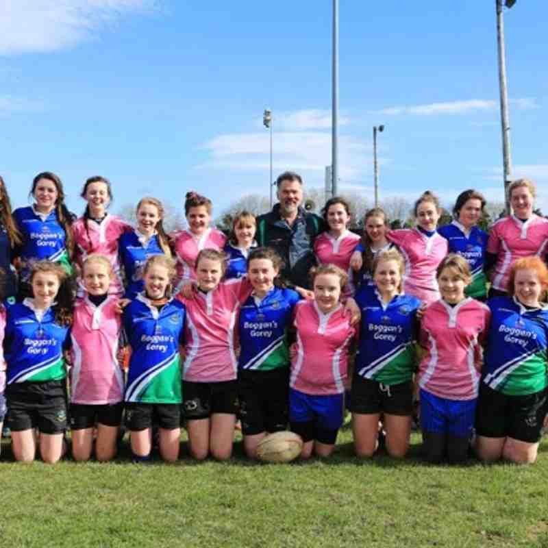 U15 Ladies Ratoath/Ashbourne RFC (Rashers) Away to Gorey RFC - 15th March 2014
