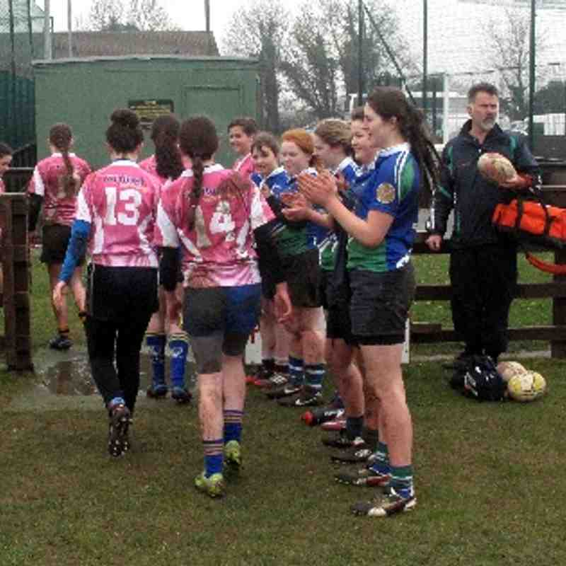 U15 Ladies Ratoath/Ashbourne RFC V Gorey RFC - 29.3.14