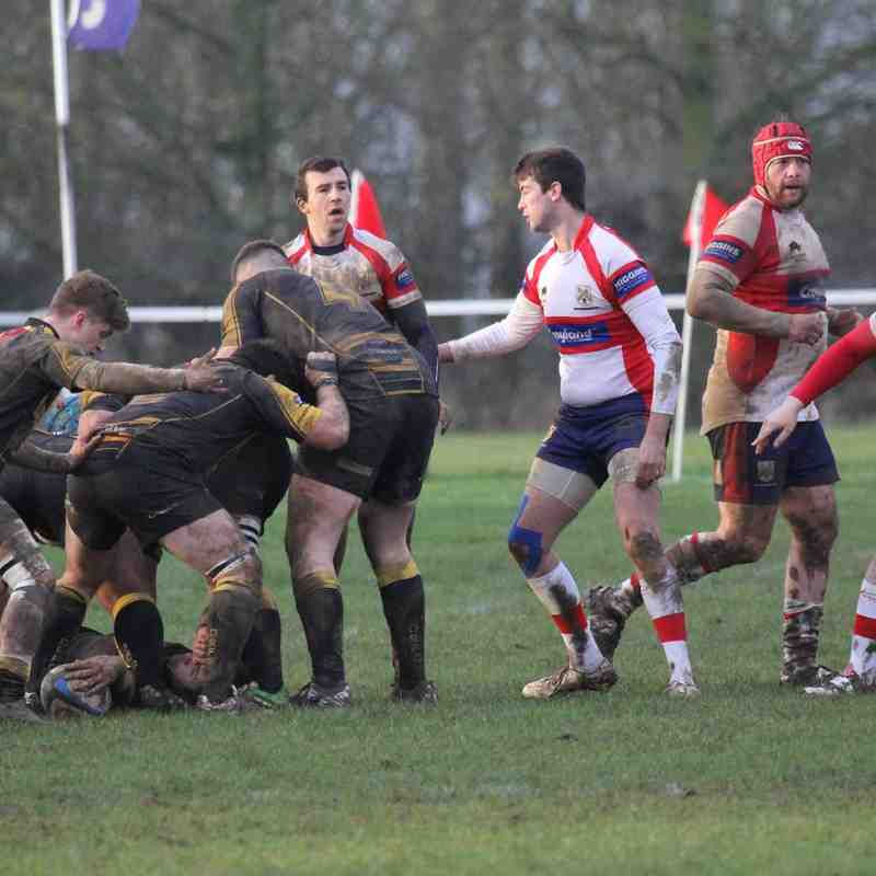 Wellingborough RFC 1st XV v Derby 23rd January 2016