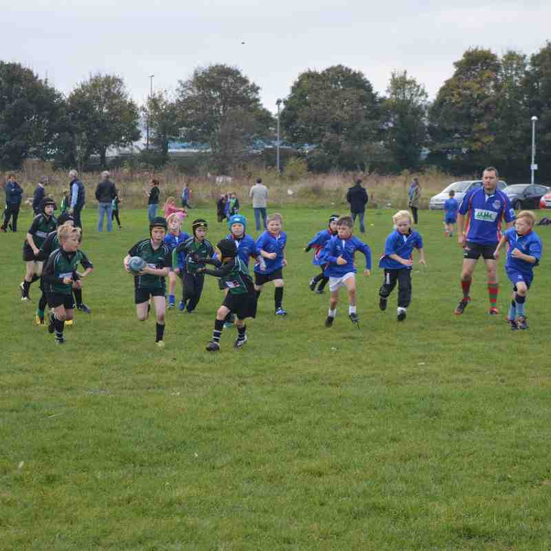 Stonehouse Sharks U9s 2015-2016 - Liskeard (Away) and Totnes (Home) games.