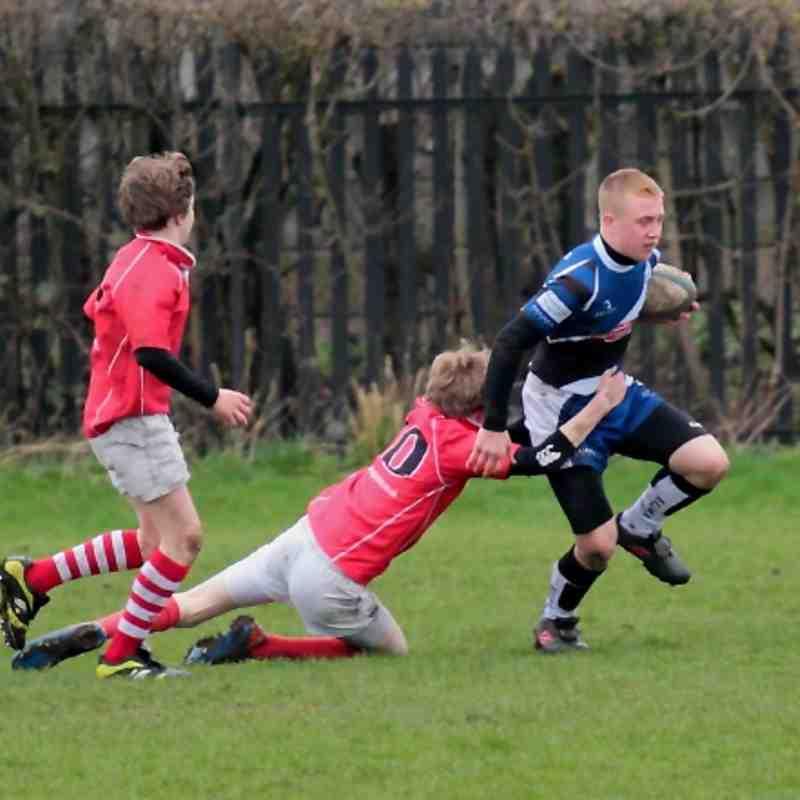 U14s TMV Hawks 17 - Whitchurch 17 friendly 11/03/12