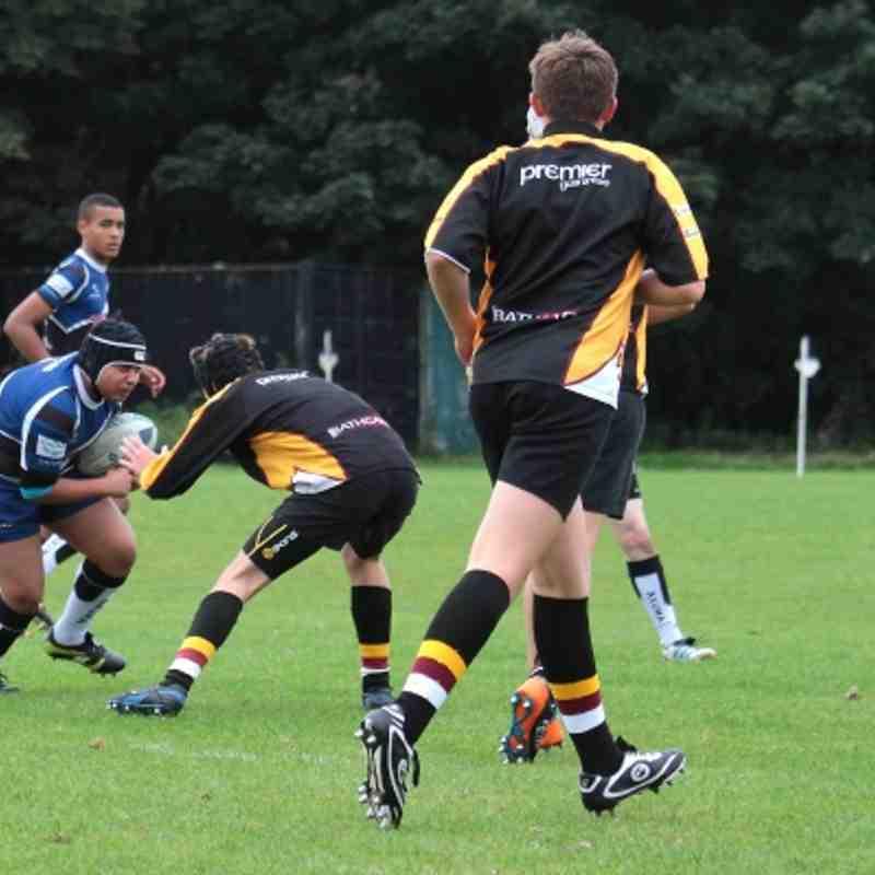 U15s TMV Hawks 29 - Caldy 33 (friendly) 16/09/12