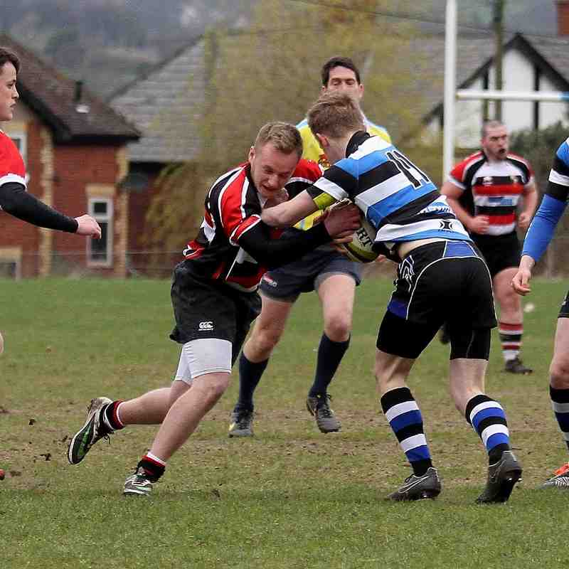 AKJ Colts 15 - Glossop 16 Semi Finals LA 12/04/15