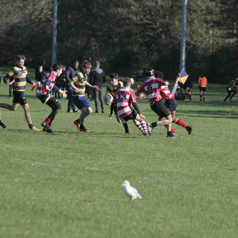 Eastbourne u16's Vs crowborough 5th nov
