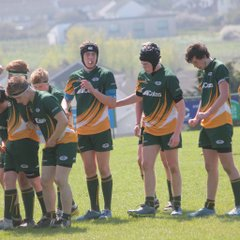 Under 16s v Helston (Plate Final) - 19th April 2015
