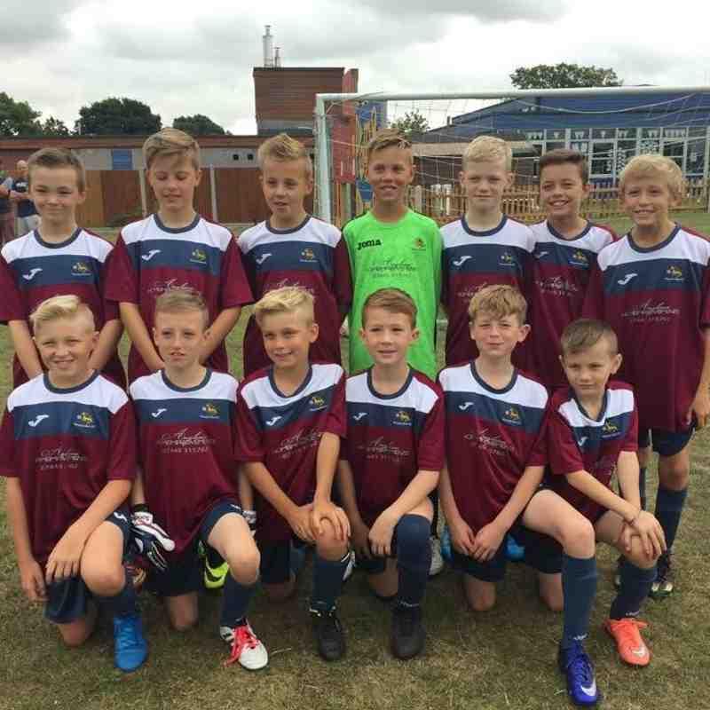 Wivenhoe Town FC u11s 2016-2017
