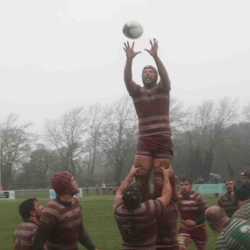 1st XV v Billingham - 20th February 2016
