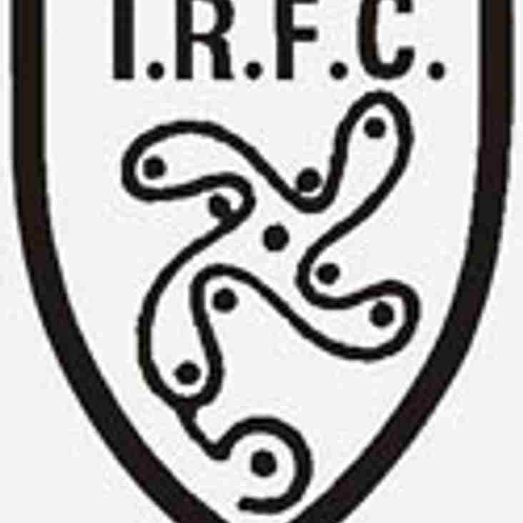 First Team Game Against Ilkley Rearranged
