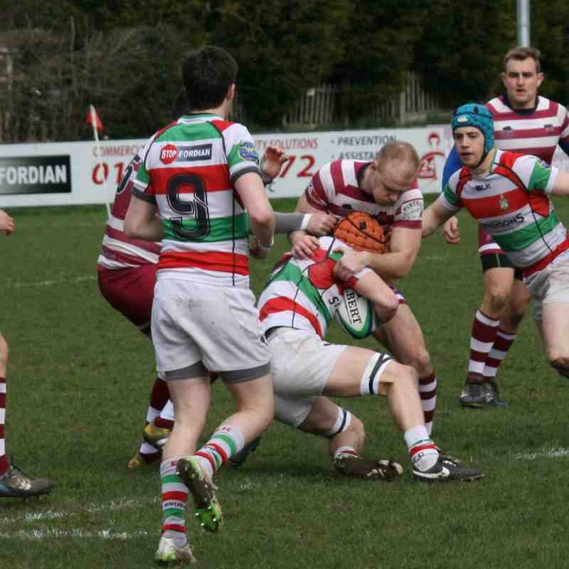 1st XV v Stockport - 9th April 2016