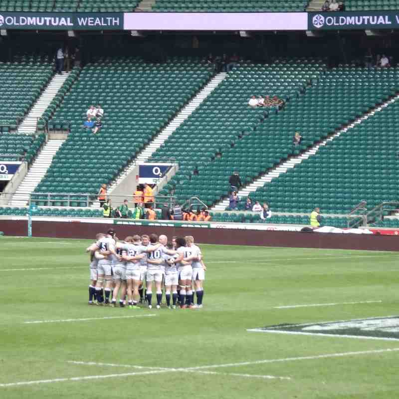 Bill Beaumont Cup - Wirral Players in Cheshire Team at Twickenham