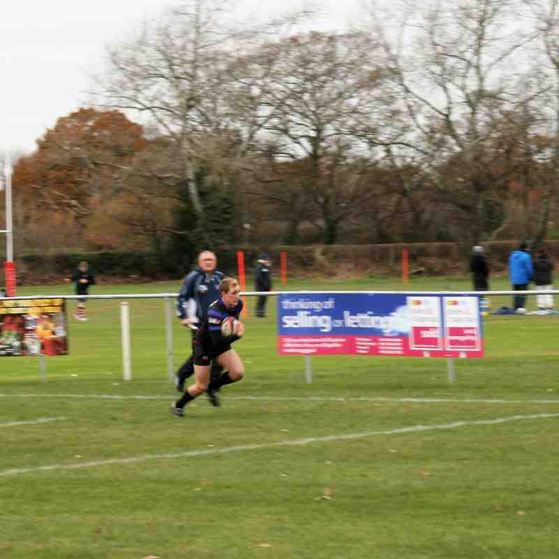 1st XV v Cleckheaton - 3rd Dec 2016