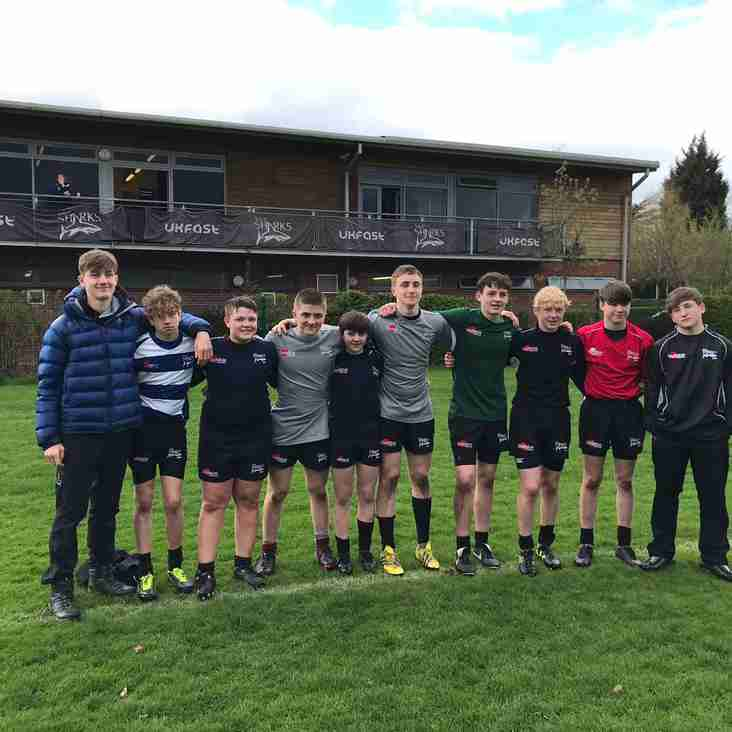 Wirral Players at Sale Sharks Developing Player Programme