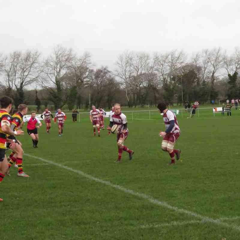 1st XV vs Harrogate 12 01 19