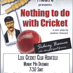 Nothing to do with Cricket