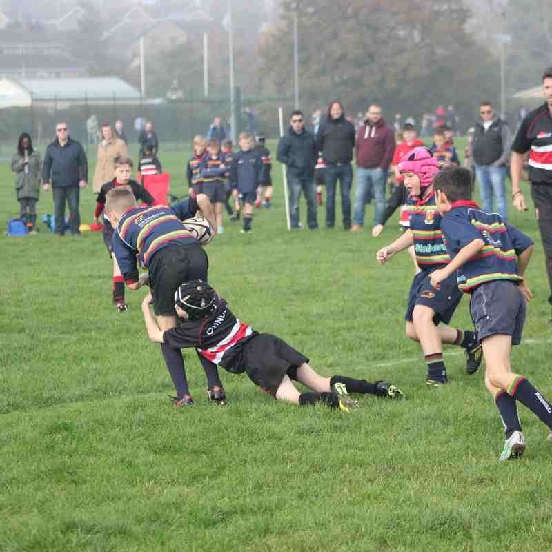 u11s  At Home V Old Scouts 01/11/15