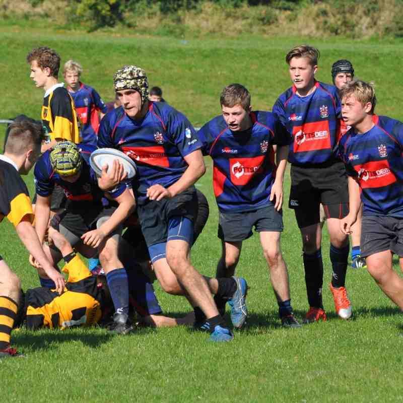 Under 16s Telford Oct 2015