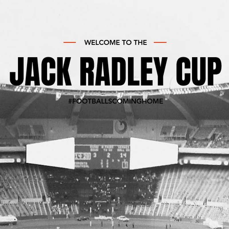The Annual Jack Radley Cup - Sat 1st Sept