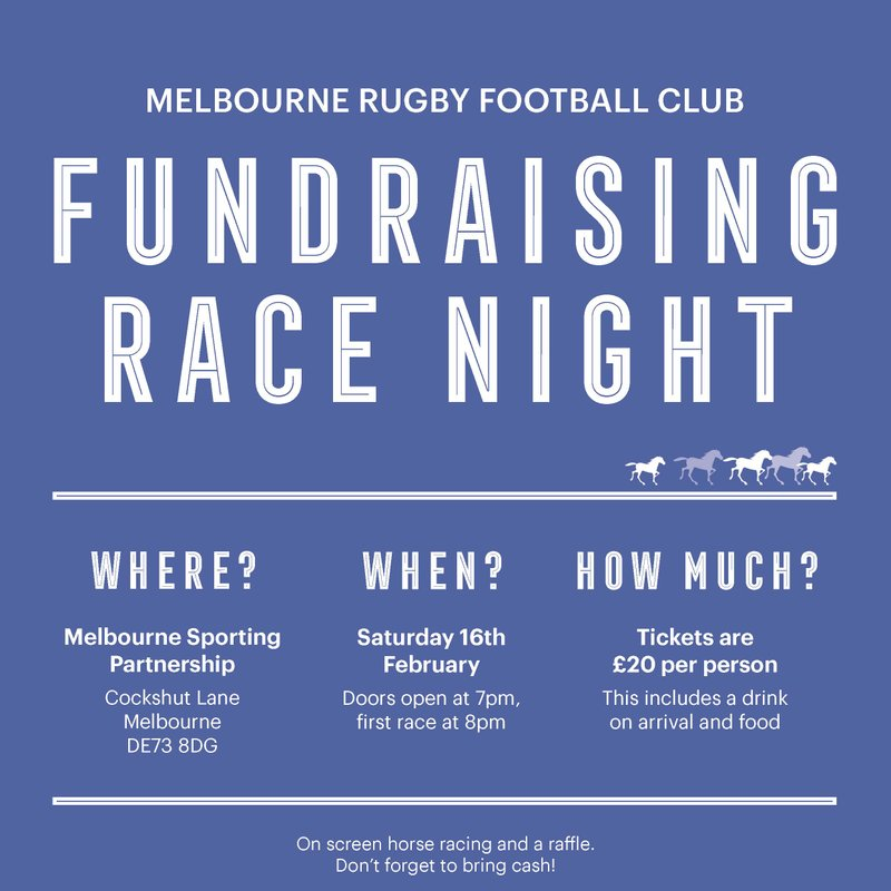 Fundraising Race Night at the MSP
