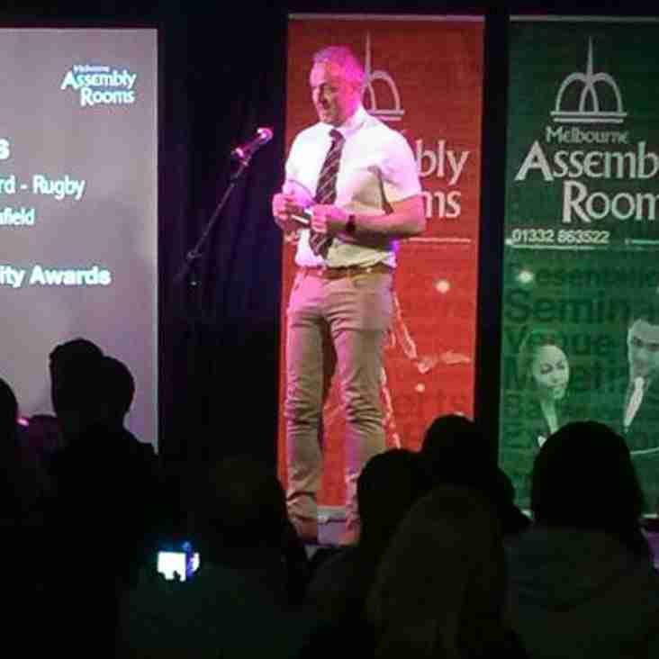Award for Ian Lucas at the MELs