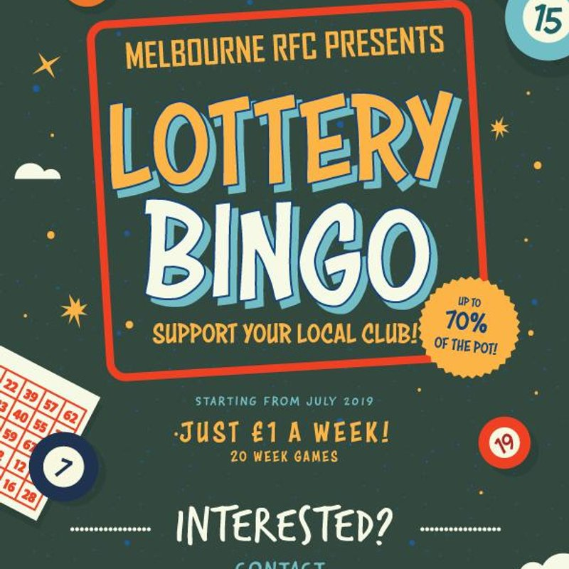Lottery Bingo is coming to Melbourne RFC