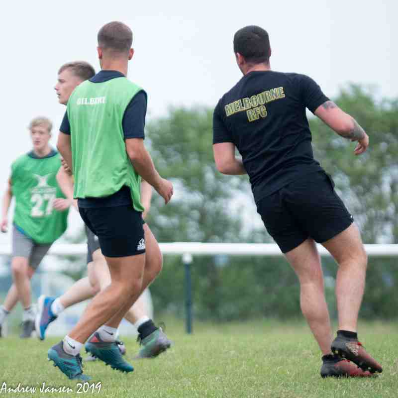 19/20 Pre-season Seniors and U16s Mix It Up