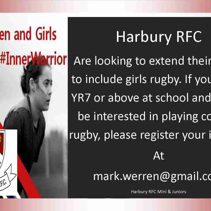 HRFC looking to expand rugby