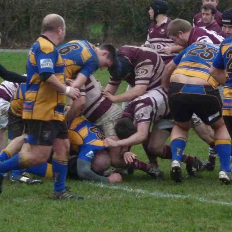 Warminster 1st V Swanage & wareham 11