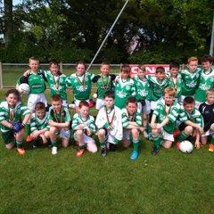 U10s at St Marys Glenavy Tournament 2015