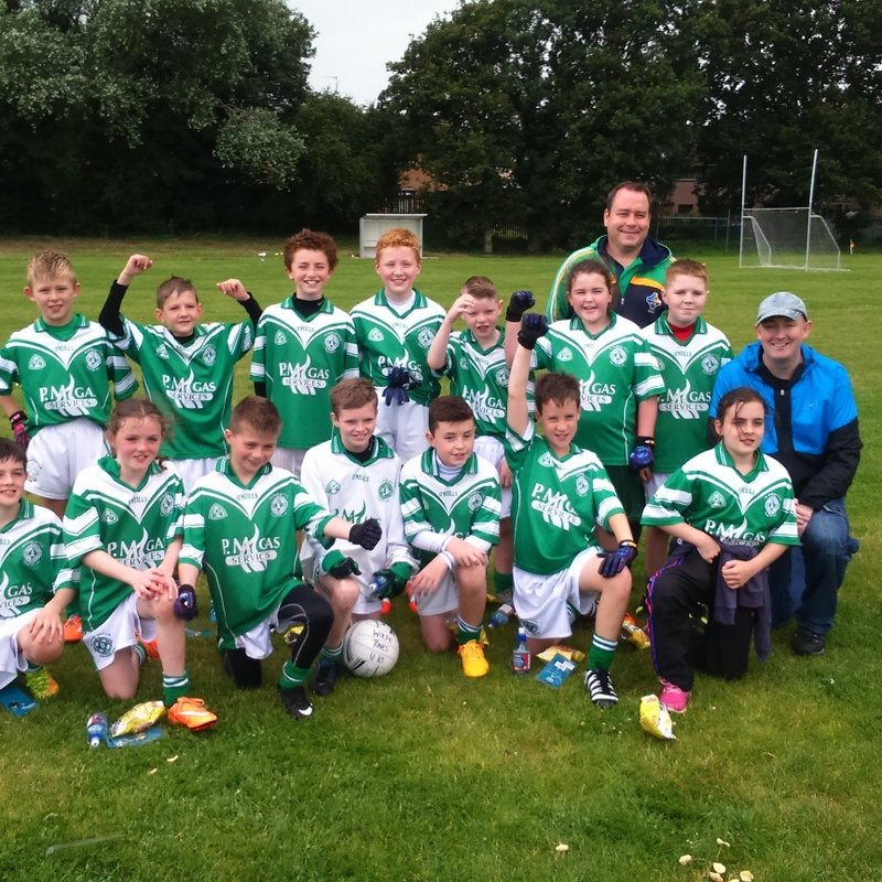 Congratulations to the U10 team for winning Wolfe Tones Team Of The Year