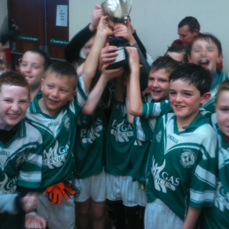 Under 10s win St Michaels Maralin Tournament on Sunday 11th October 2015