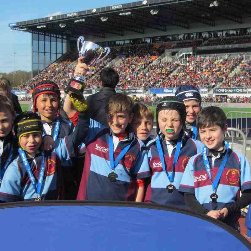 Allianz Cup Sat 11th April 2015 WE WON!