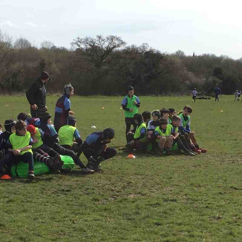 BERFC U11s vs Woodford Sunday 10 April 2015
