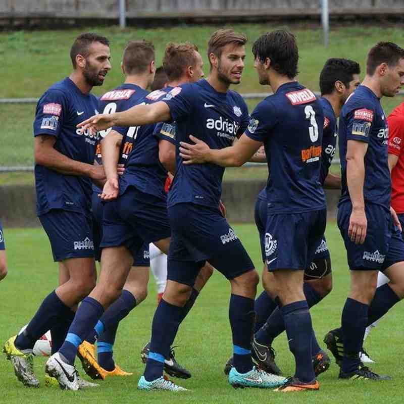 NPL SEASON 2015 PRE SEASON FREINDLY - SOUTH HOBART FC VS PVSC