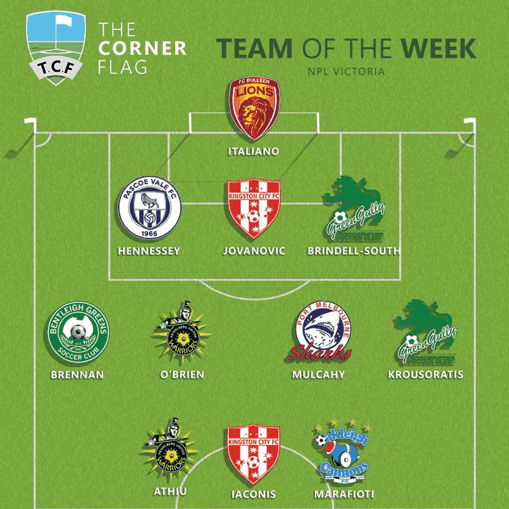 NPL Victoria Team of the Week: Round 16