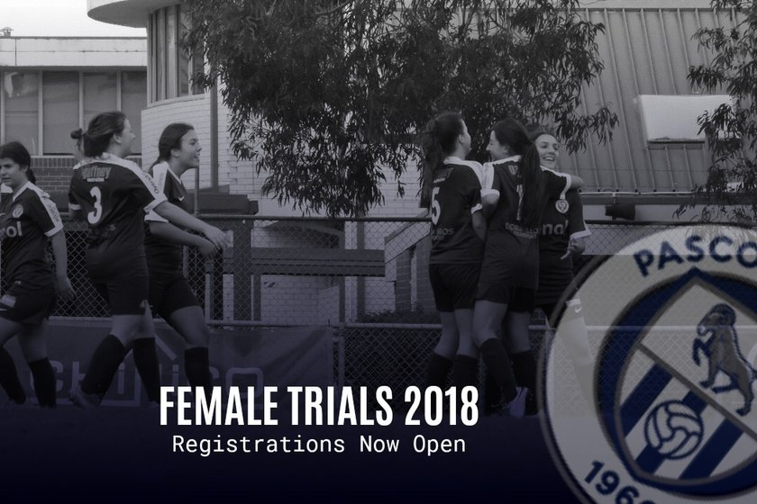 2018 FEMALE EXPRESSION OF INTEREST NOW OPEN