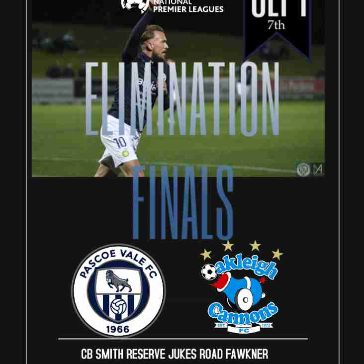 NATIONAL PREMIER LEAGUE OF VICTORIA - QUALIFYING FINALS