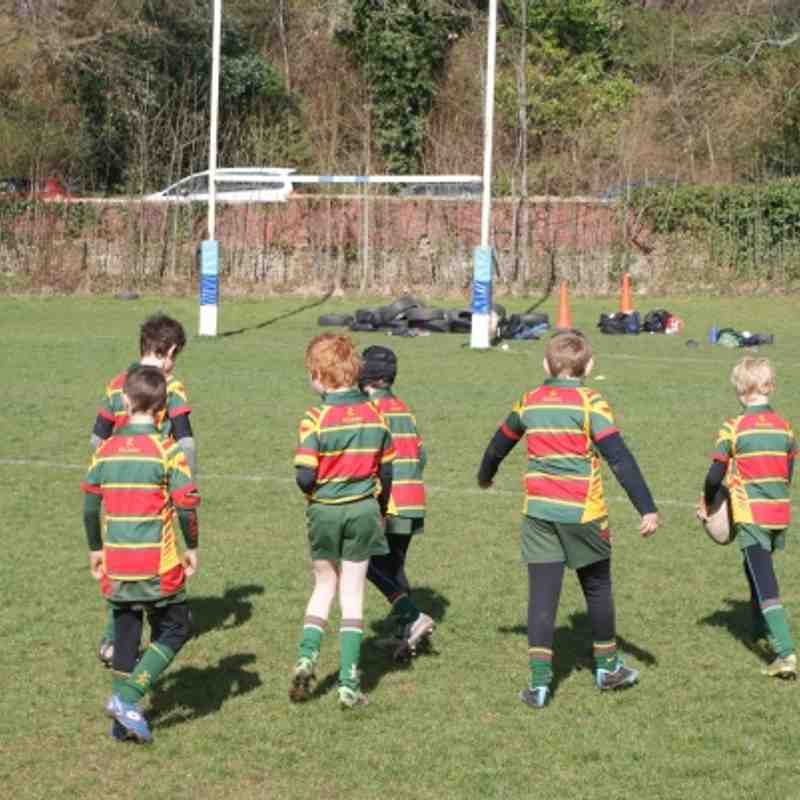 Selby U10's at the Ripon RWC Festival