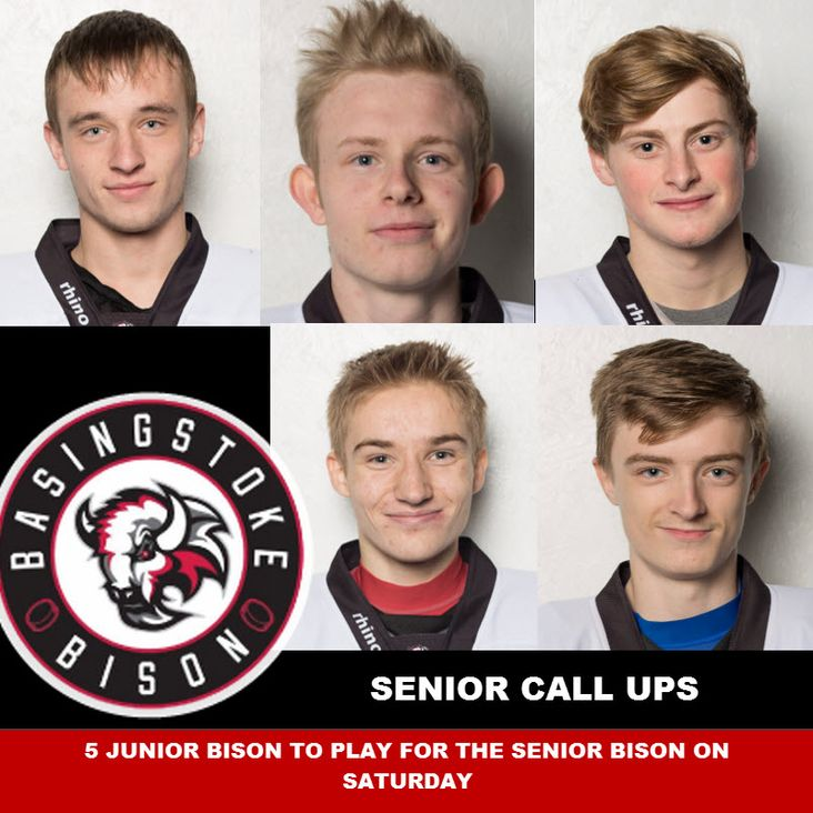Five Junior Bison called up to the Senior Team<
