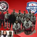 Junior Bison players representing South West Conference