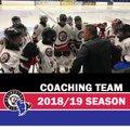 2018/19 Coaching Team Announced