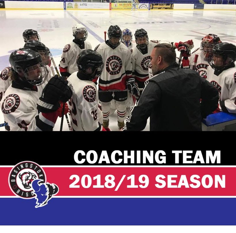 2018 19 Coaching Team Announced News Basingstoke Junior Bison