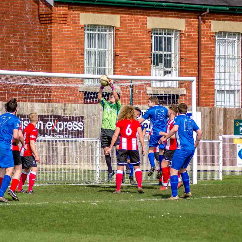 Wells v Bridgwater Sat 14th April 2018