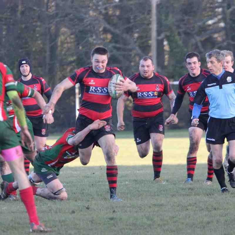 NBRFC v Dalkeith RFC 24 January 2015