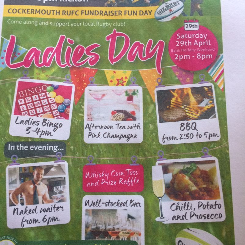 Ladies Day is back, Sat 29th April 2017