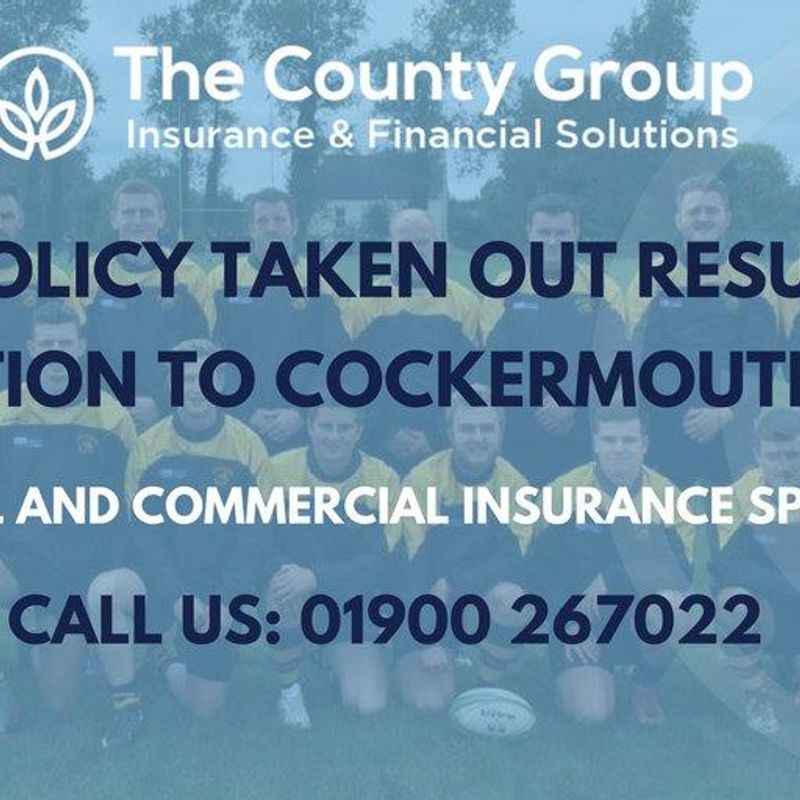 The County Group can help you & CRUFC