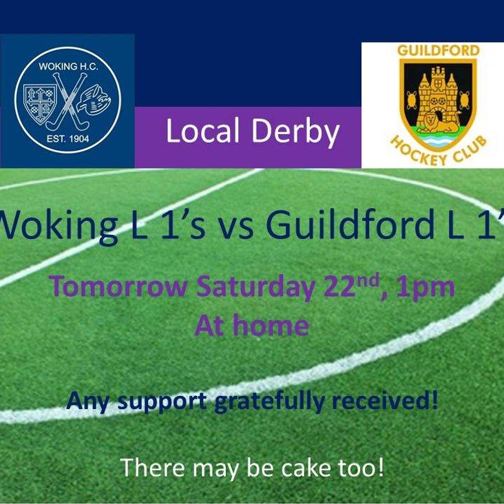 Local Derby tomorrow!<