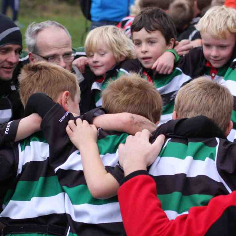 Under 7's against Ilkley october 2014