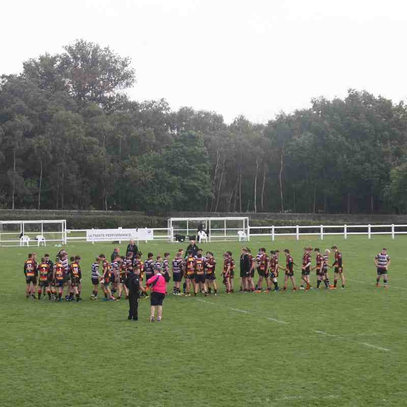 Harrogate U16 vs Old Rishworthians 2015