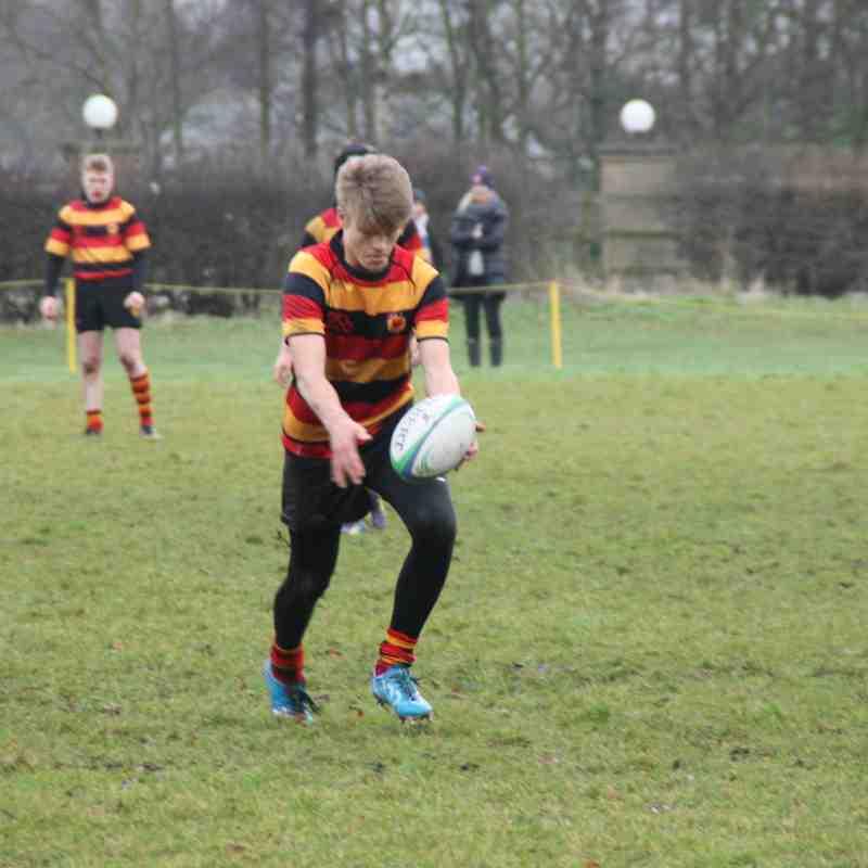 Harrogate Under 16 v Bradford and Bingley