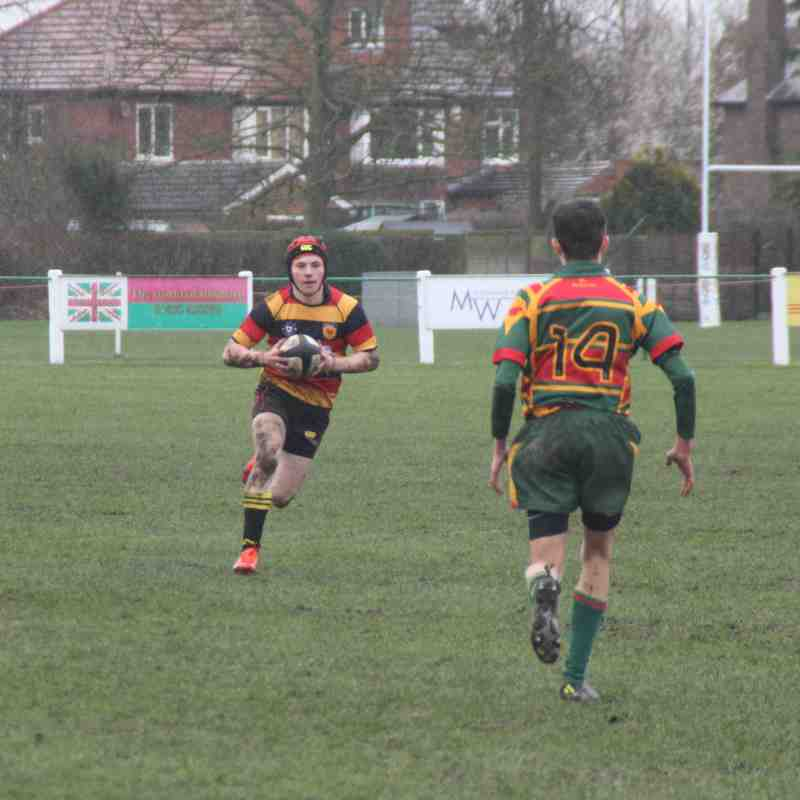 5/3/17 Colts; Yorkshire Cup Plate Semi-final. Harrogate 53: Selby 7